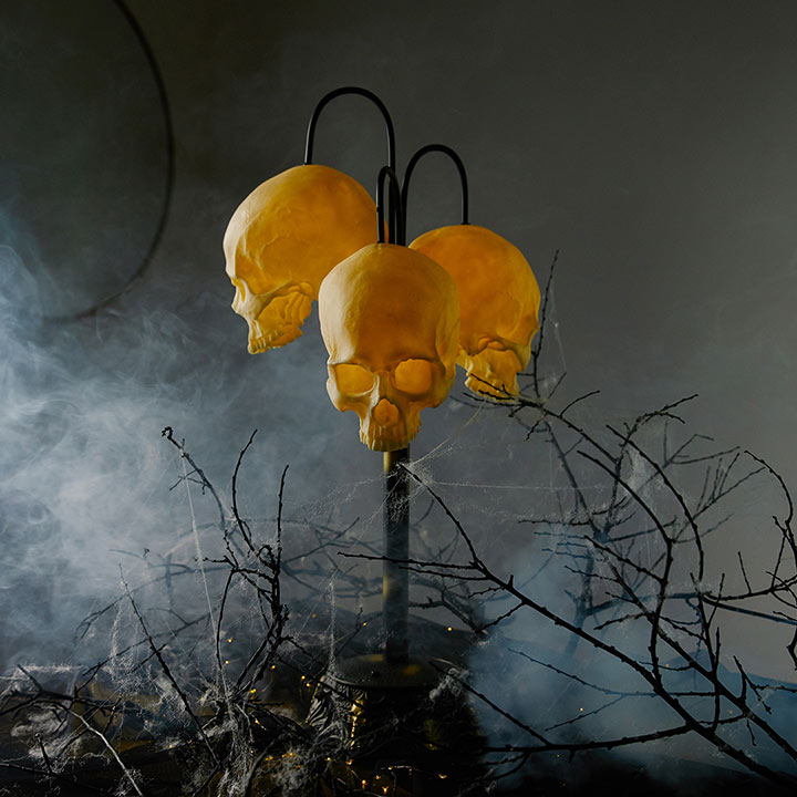 LED Skull Table Lamp