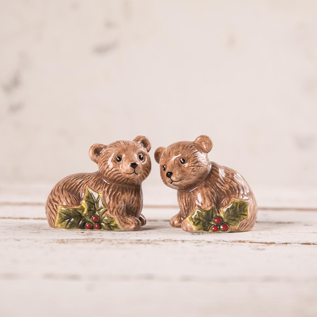 Bear Cubs Salt and Pepper Set