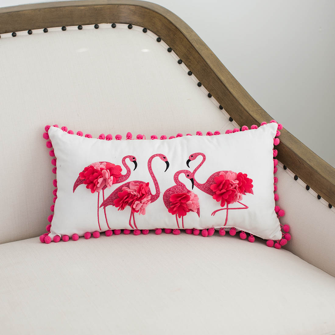 Flamingo Decorative Pillow