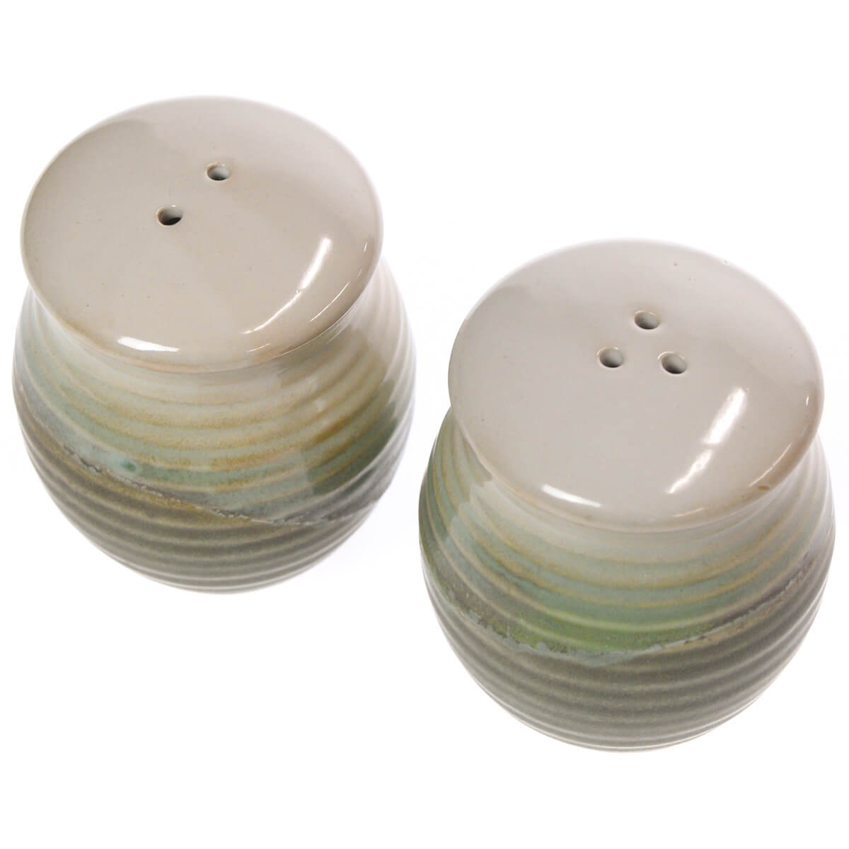Oh Gussie Stoneware Salt and Pepper Shaker Set