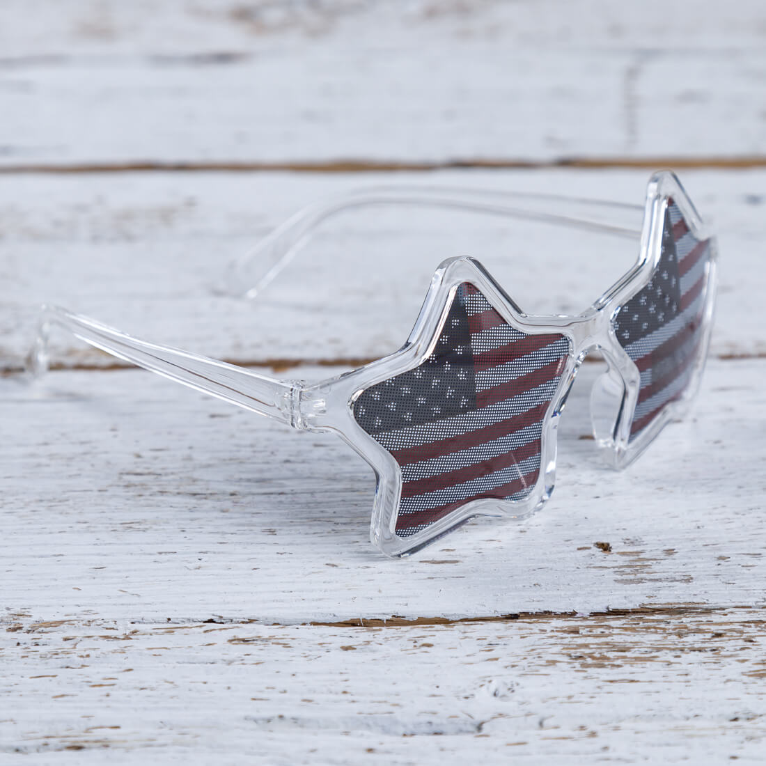 Star Sunglasses with Flag Lenses