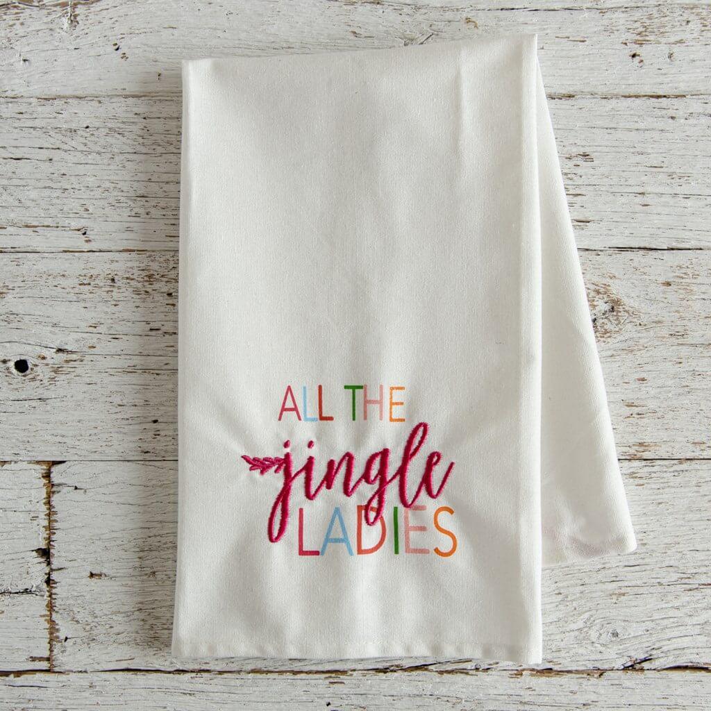 Jingle Ladies Hand Towel