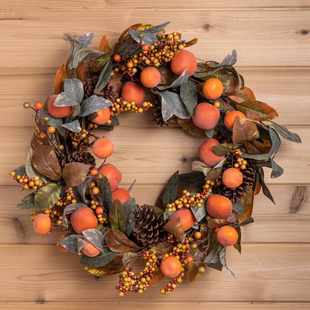 Harvest Thanksgiving door wreath