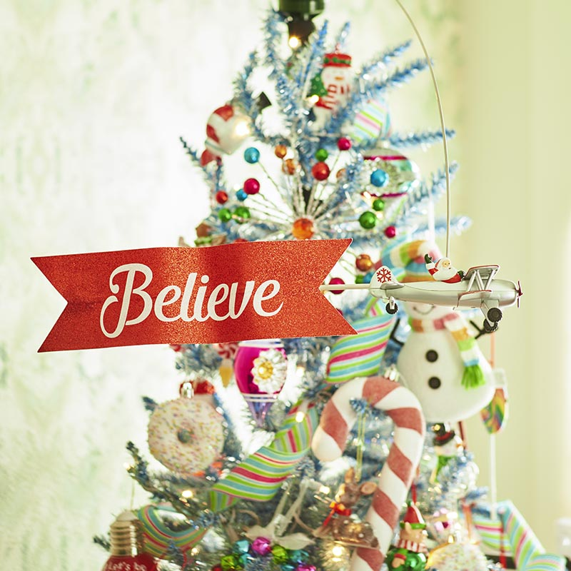 Whimsical Christmas Decor and Ornaments