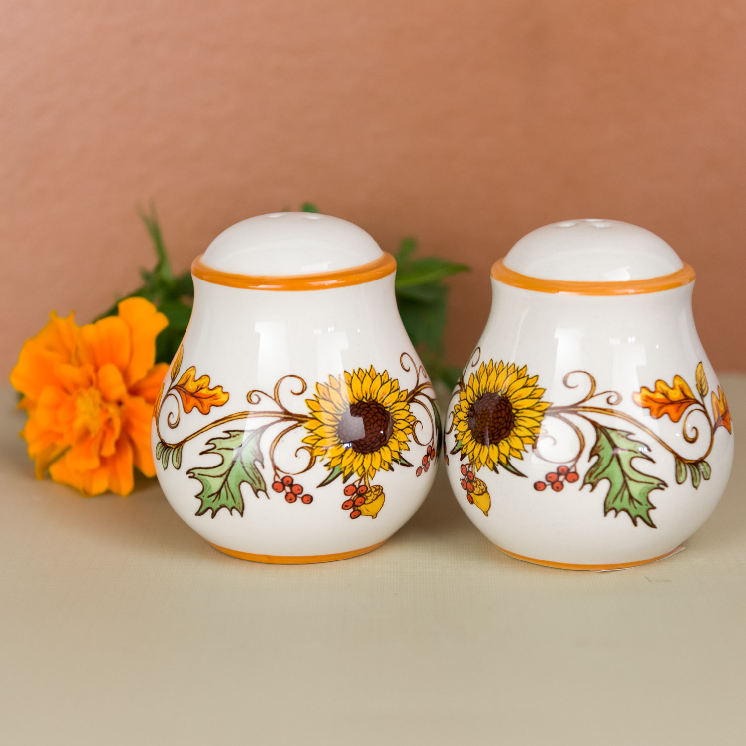 Harvest Salt and Pepper Shakers