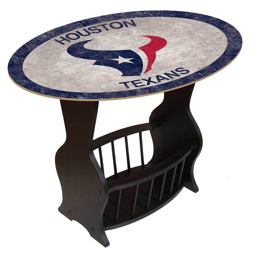 Houston Texans - Team Color End Table