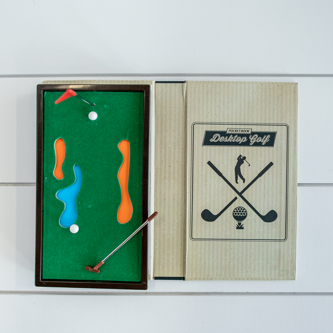 Pocket Book Golf Game