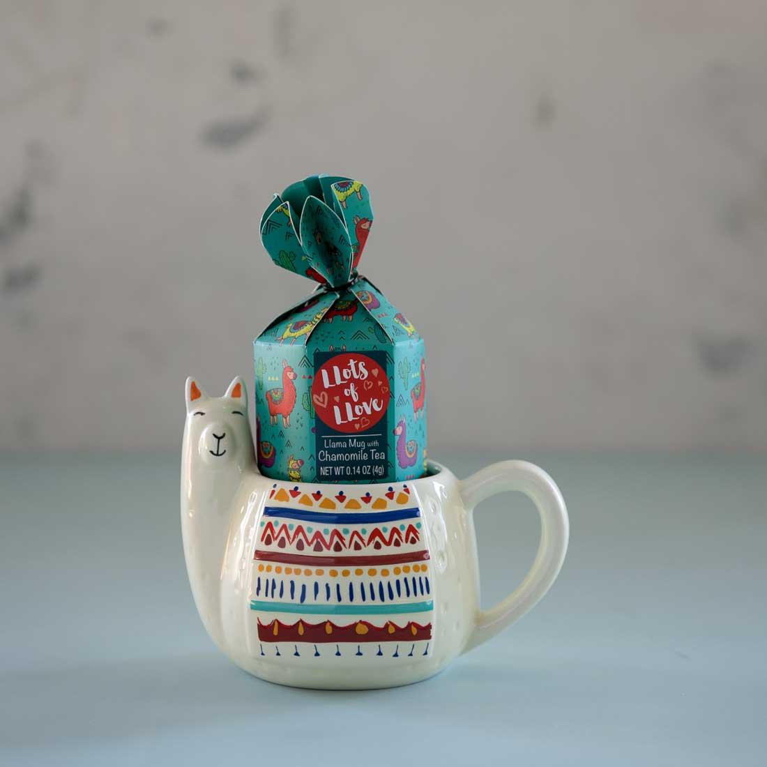 Llama Mug and Tea Set