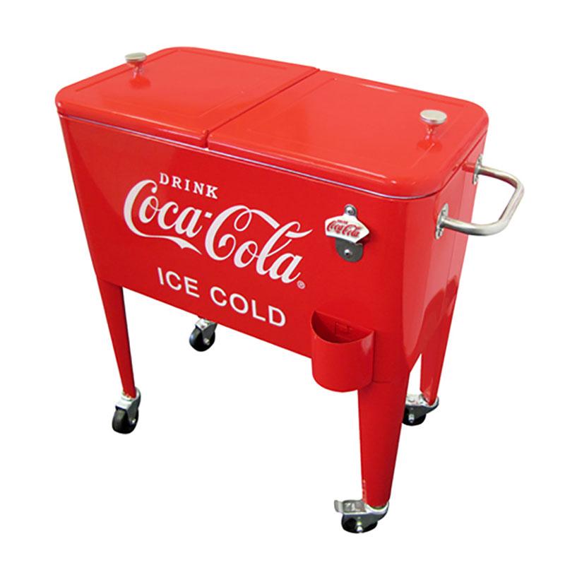 Vintage Coa-Cola 60-Quart Cooler