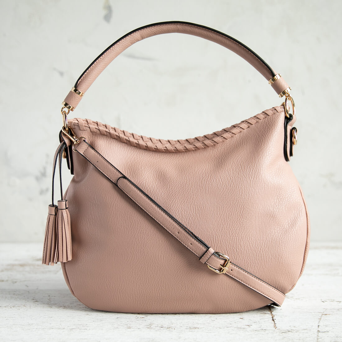 Blush Hobo Bag
