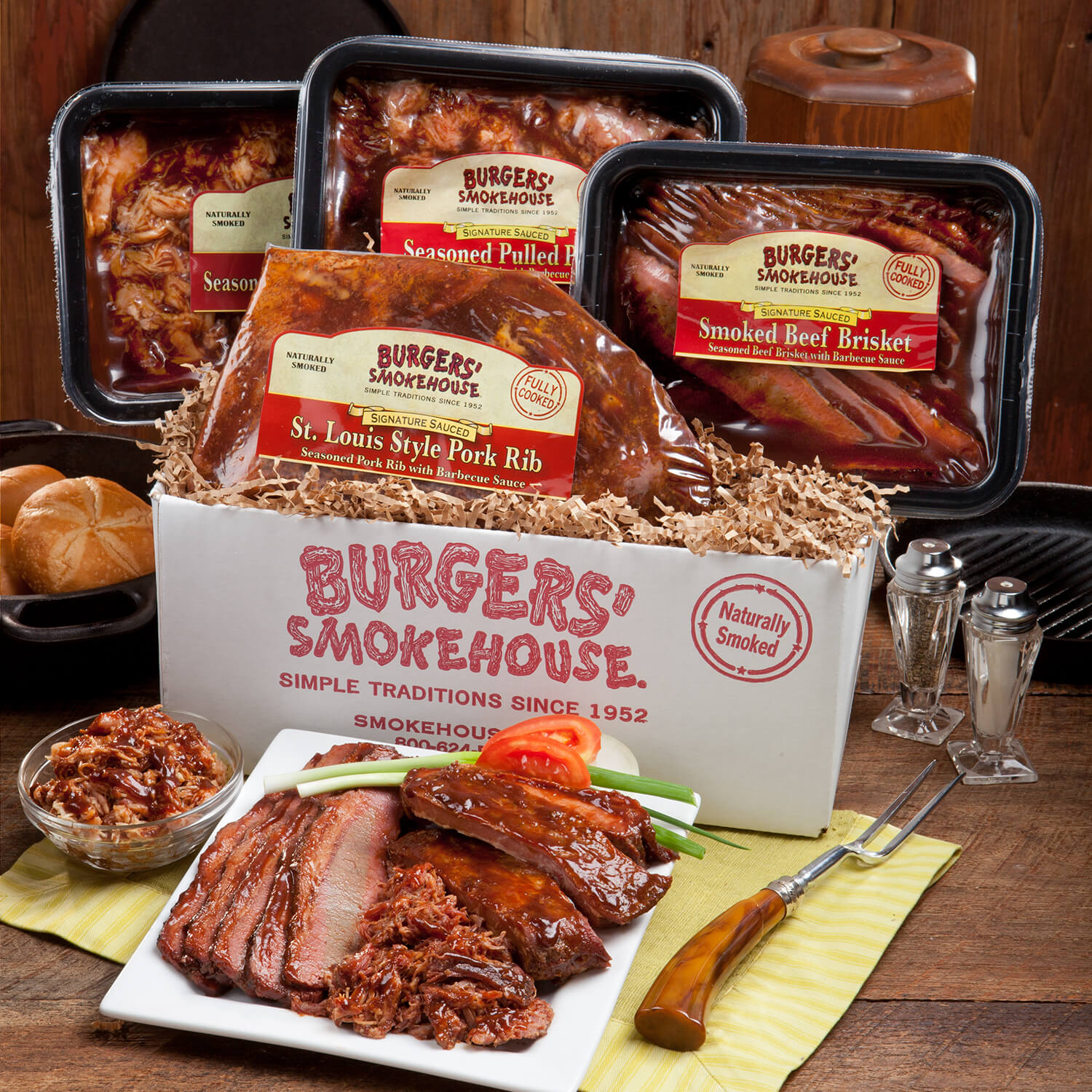 Shop Cracker Barrel Kansas City BBQ Sampler
