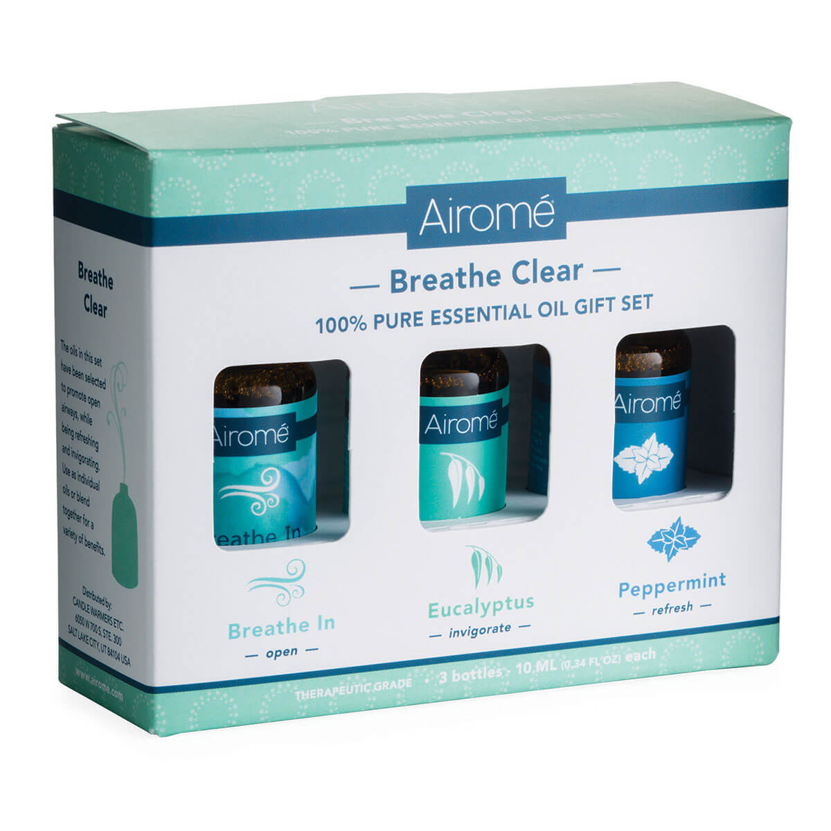 Airome Pure Essential Oil Gift Set - Breathe Clear