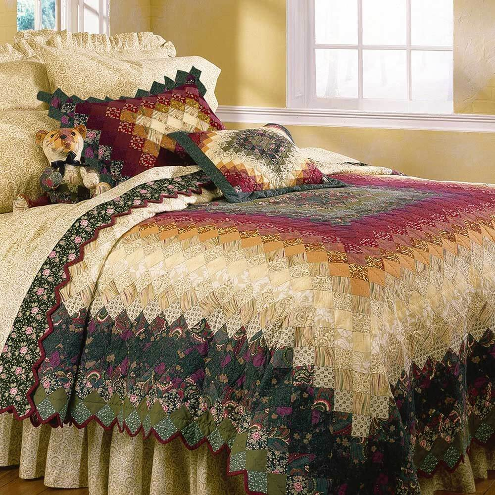 Donna Sharp Spice Trip Queen Sized Quilt