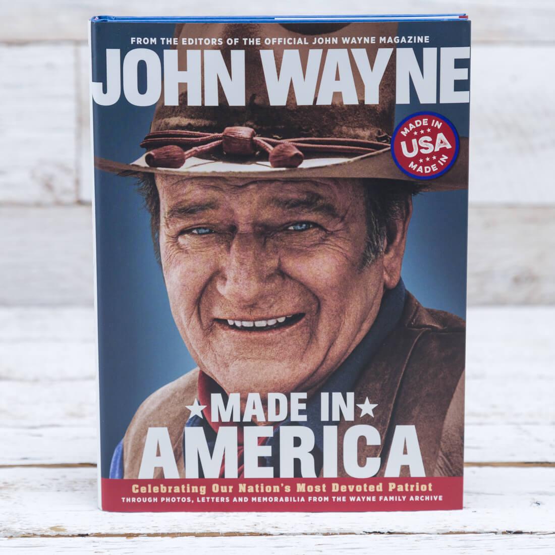 John Wayne: Made in America Book