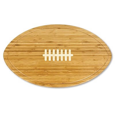 Football Serving Tray made of bamboo