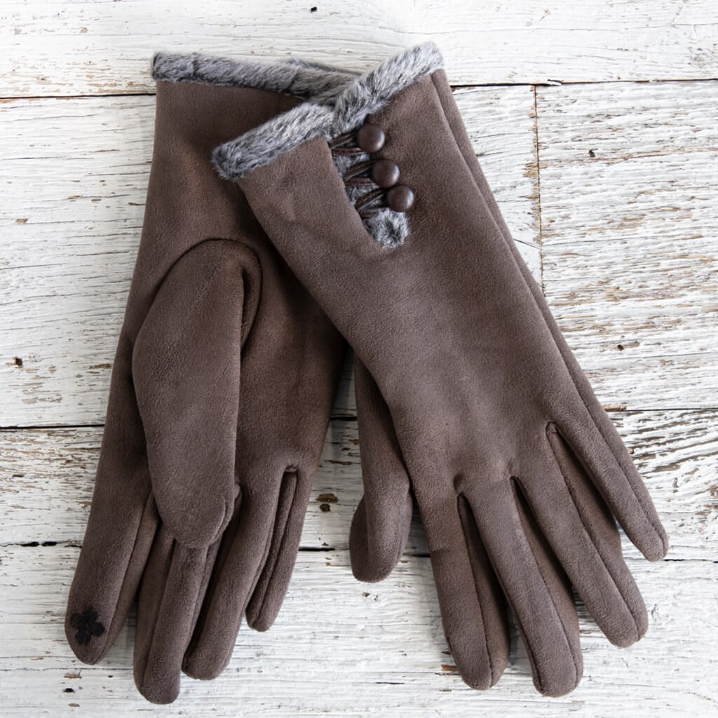 Taupe Women's Gloves