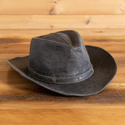 Weathered Cotton Outback Men's Hat