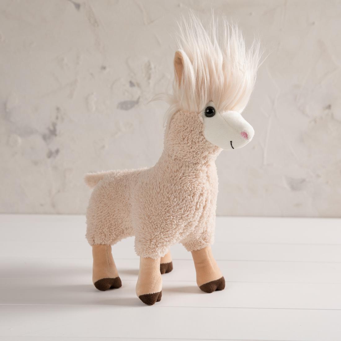 Fluffy Plush Llama
