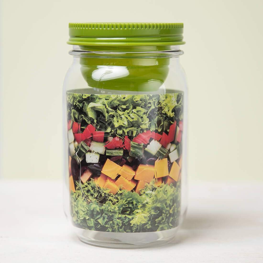 Classic Mason Salad Jar