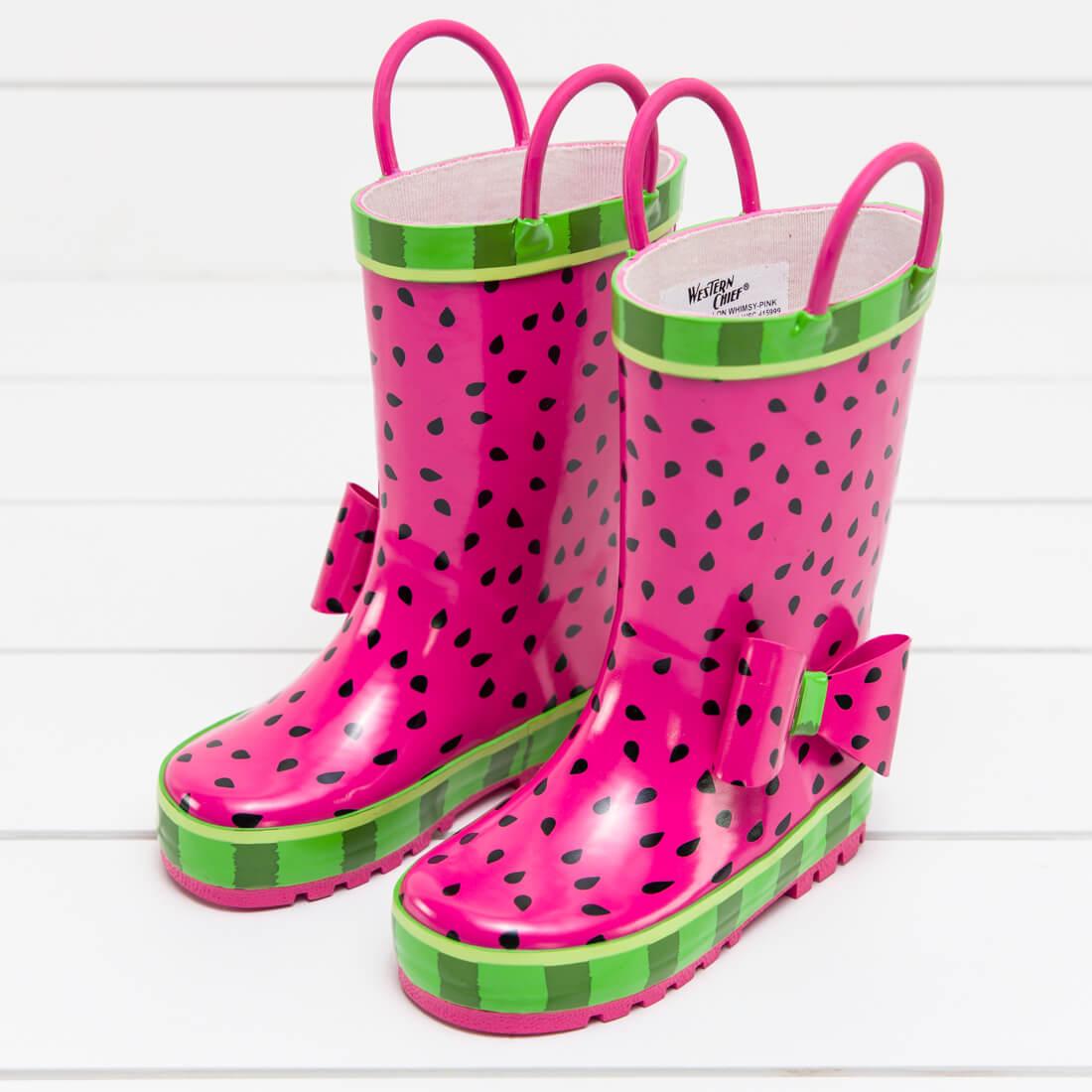 Kid's Watermelon Rain Boot