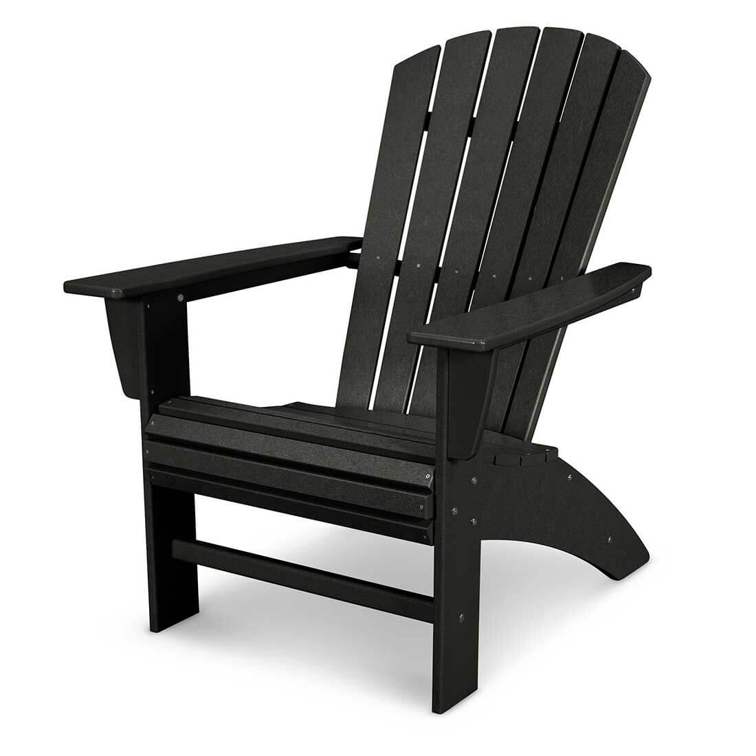 Polywood Nautical Curveback Adirondack Chair
