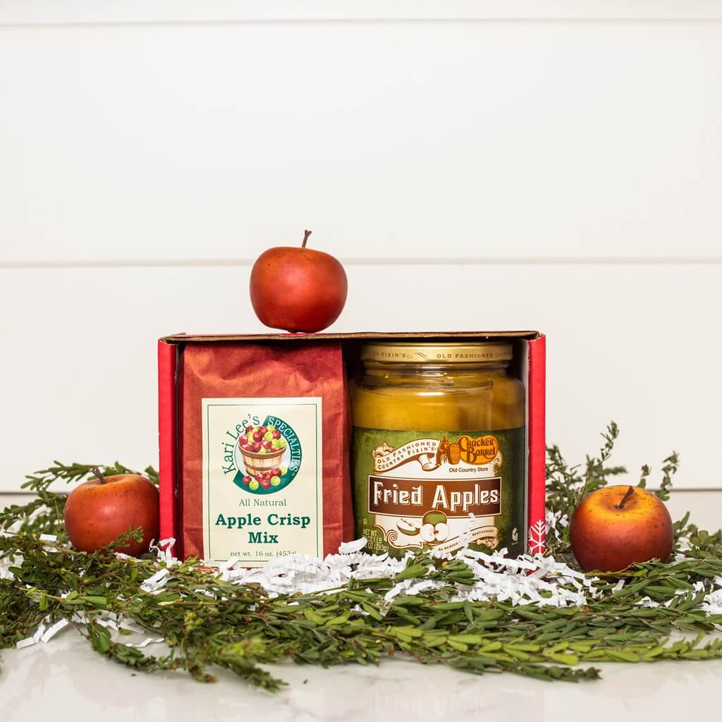 Apple Crisp Patter and Fried Apples in 2pc package