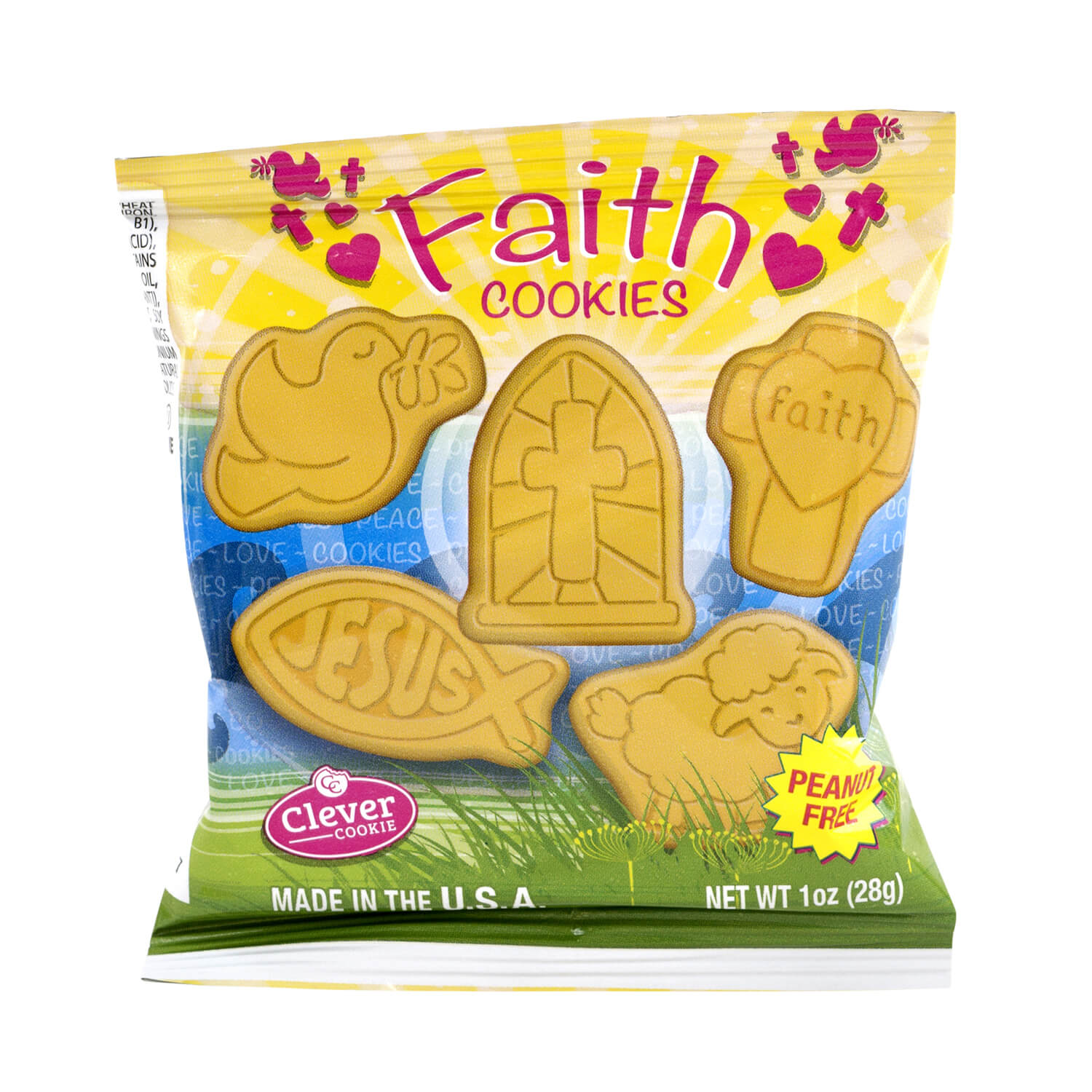 Faith Cookies - 85 Count