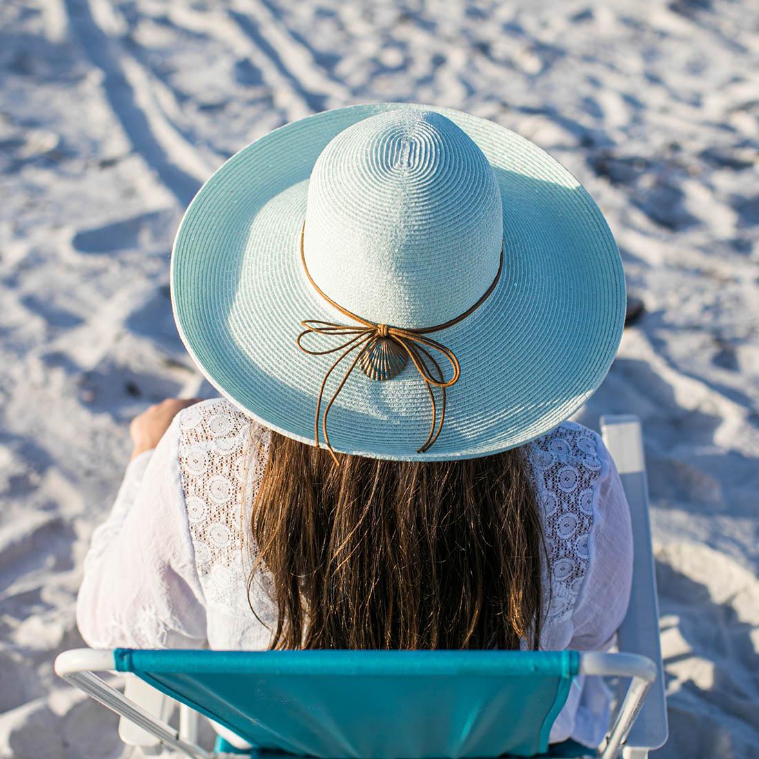 Sequin Sun Hat