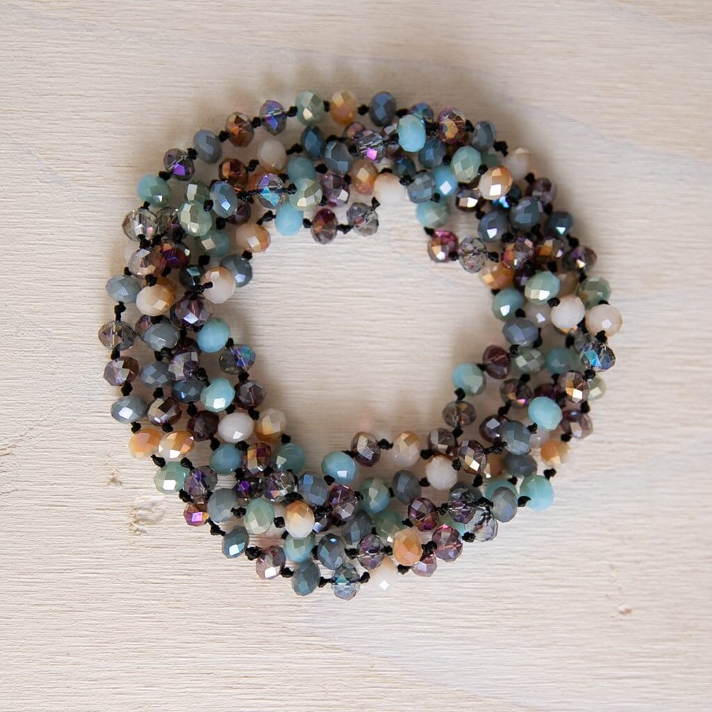 Multi-Color Bead Necklace