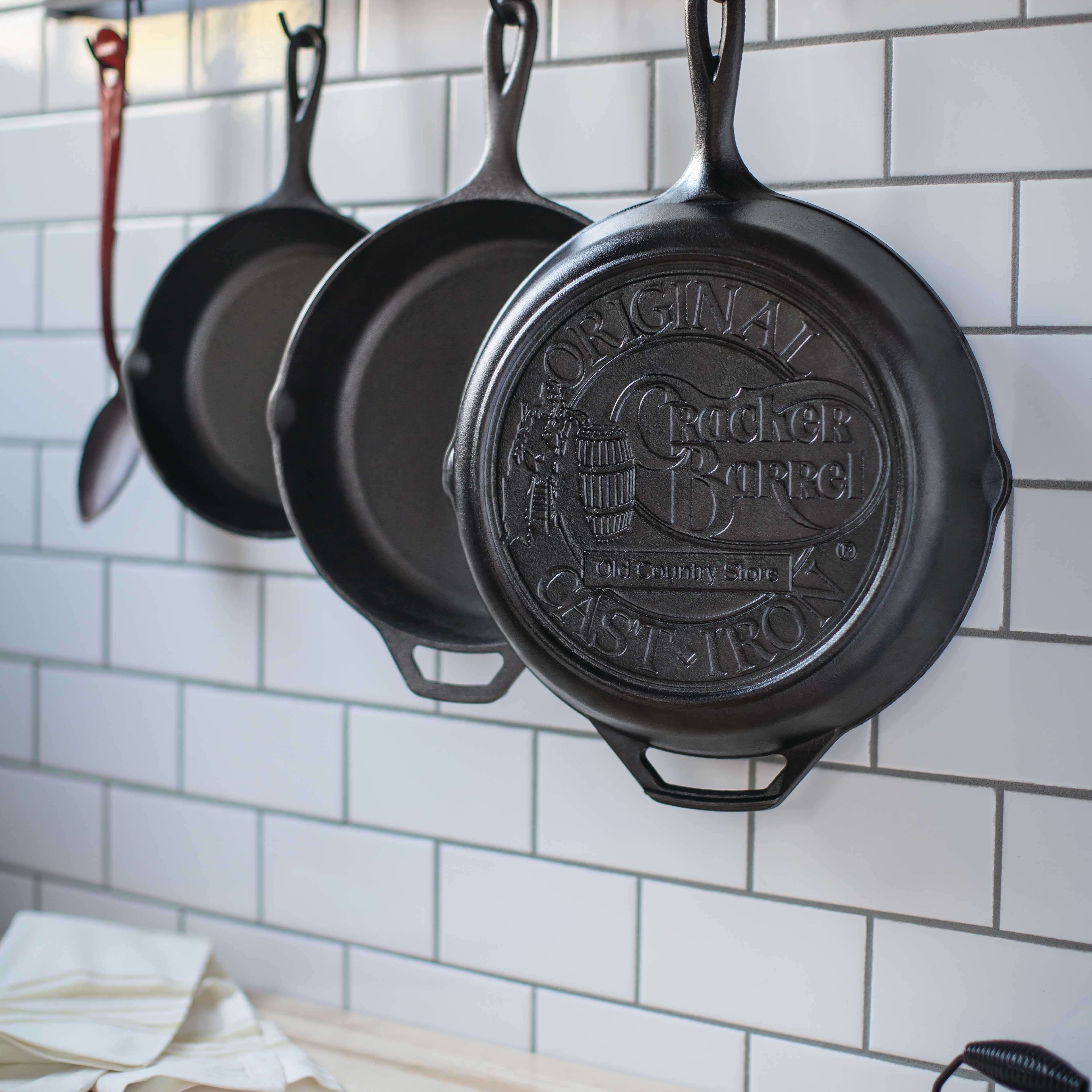 Lodge 5-Quart Cast Iron Covered Deep Skillet