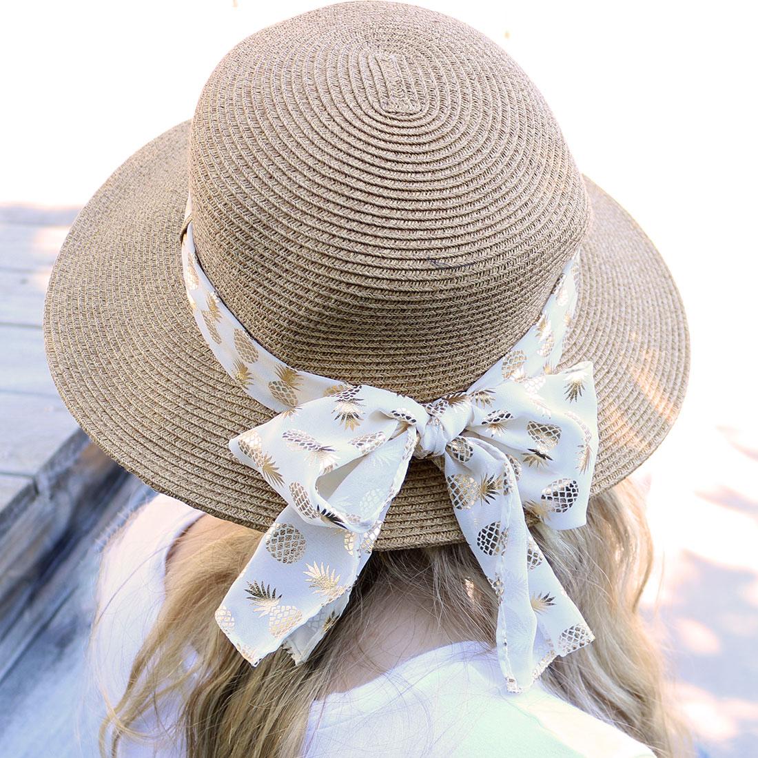 Pineapple Sun Hat