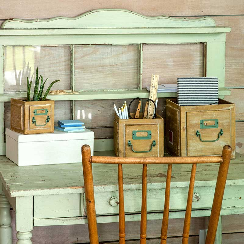 Country Living Storage Boxes