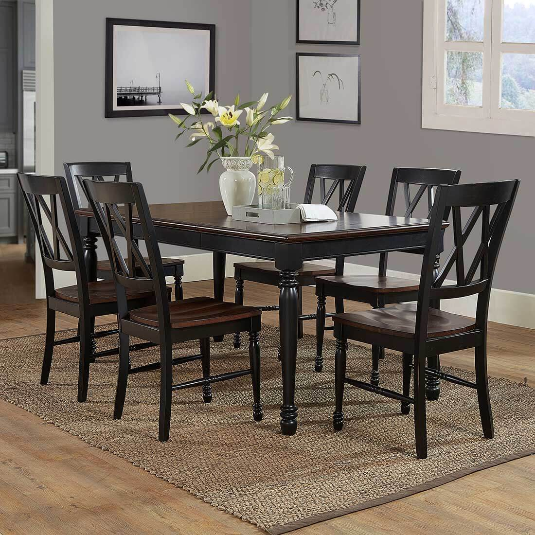 Table Shelby 7-Piece Dining Set