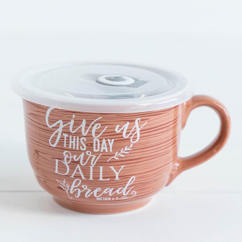 Give Us this Day Souper Mug