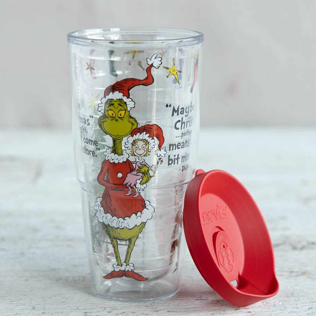 Grinch Double Walled Plastic Tumbler
