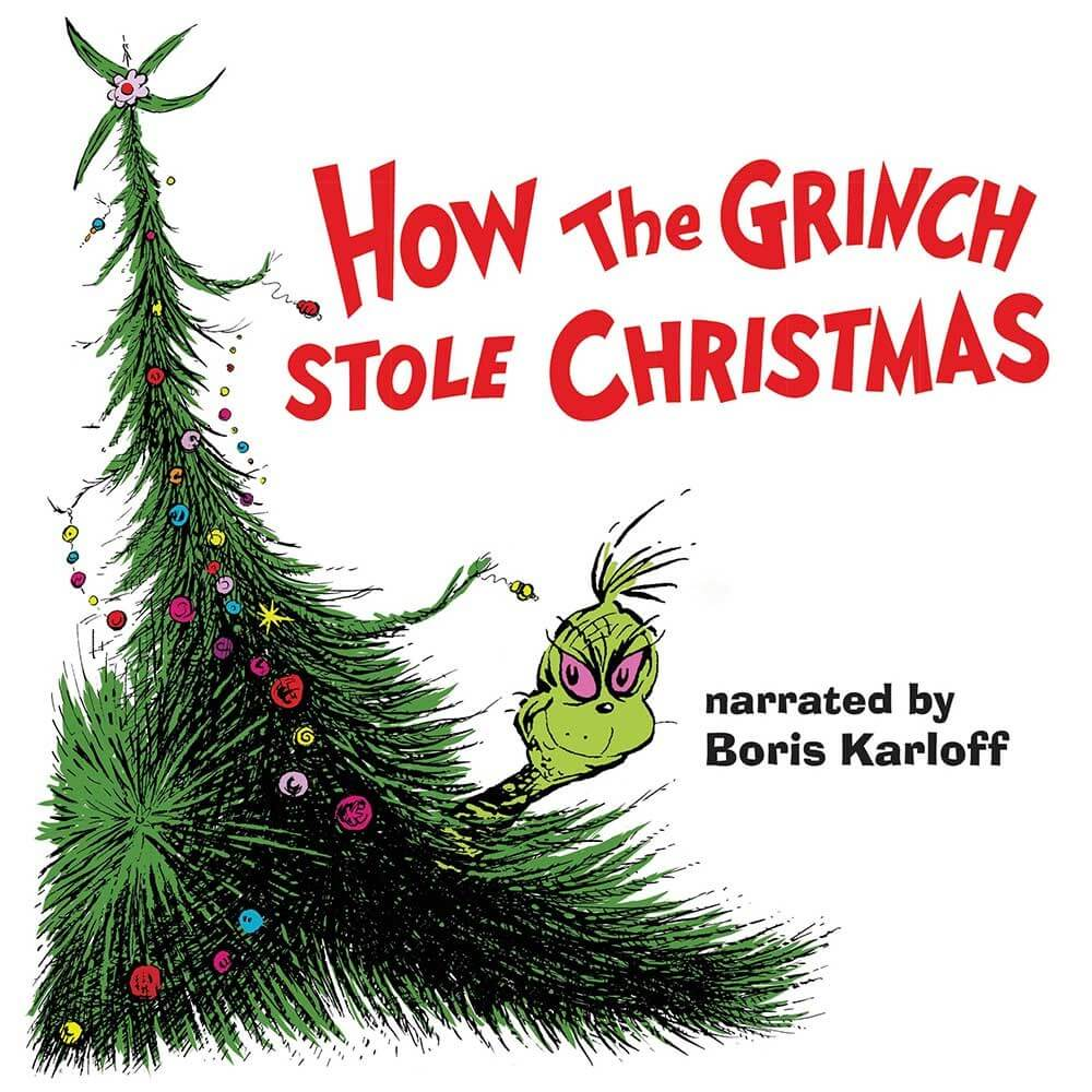How the Grinch Stole Christmas LP recording