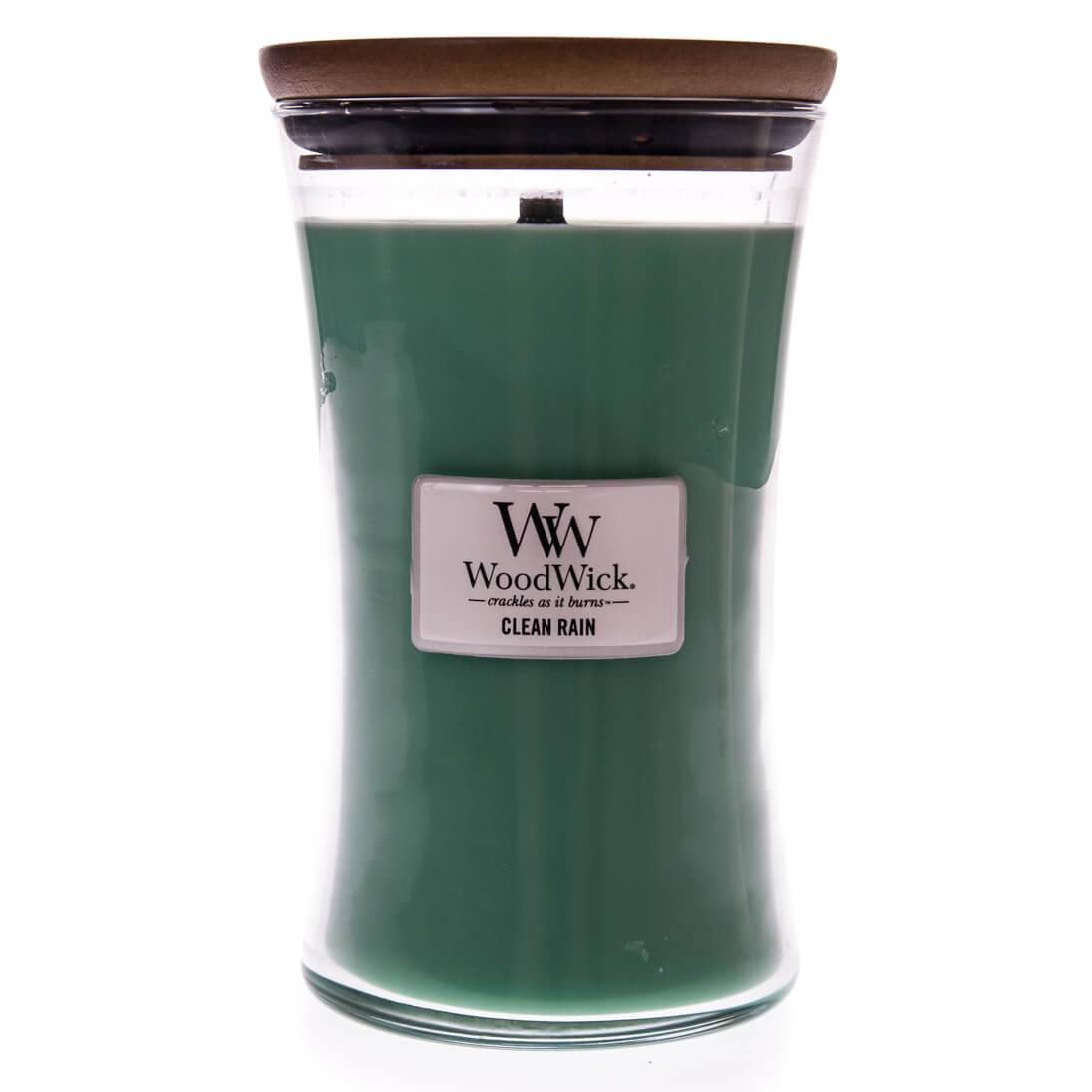 Milky Green Luster Cloche Candle