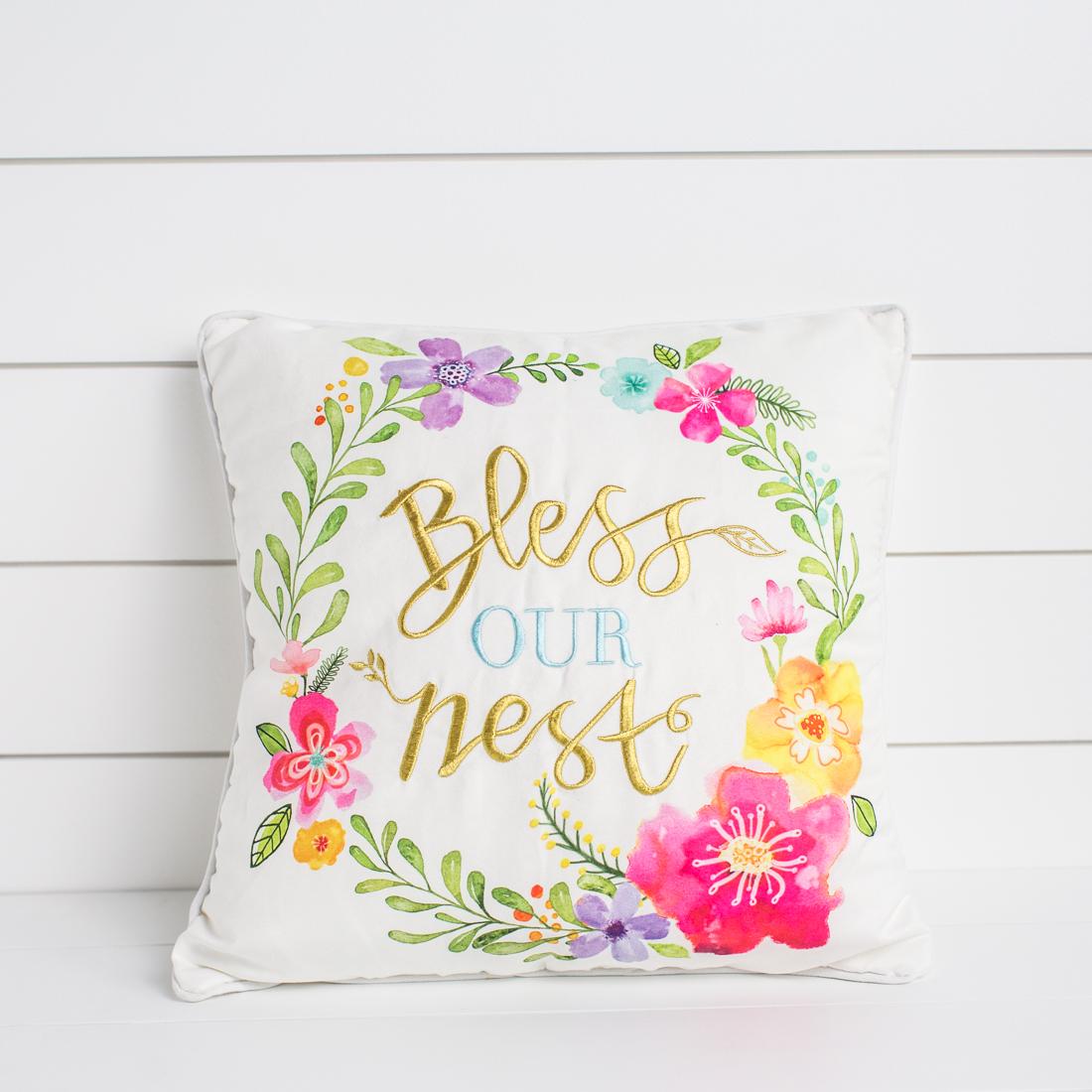 Bess Our Nest Pillow