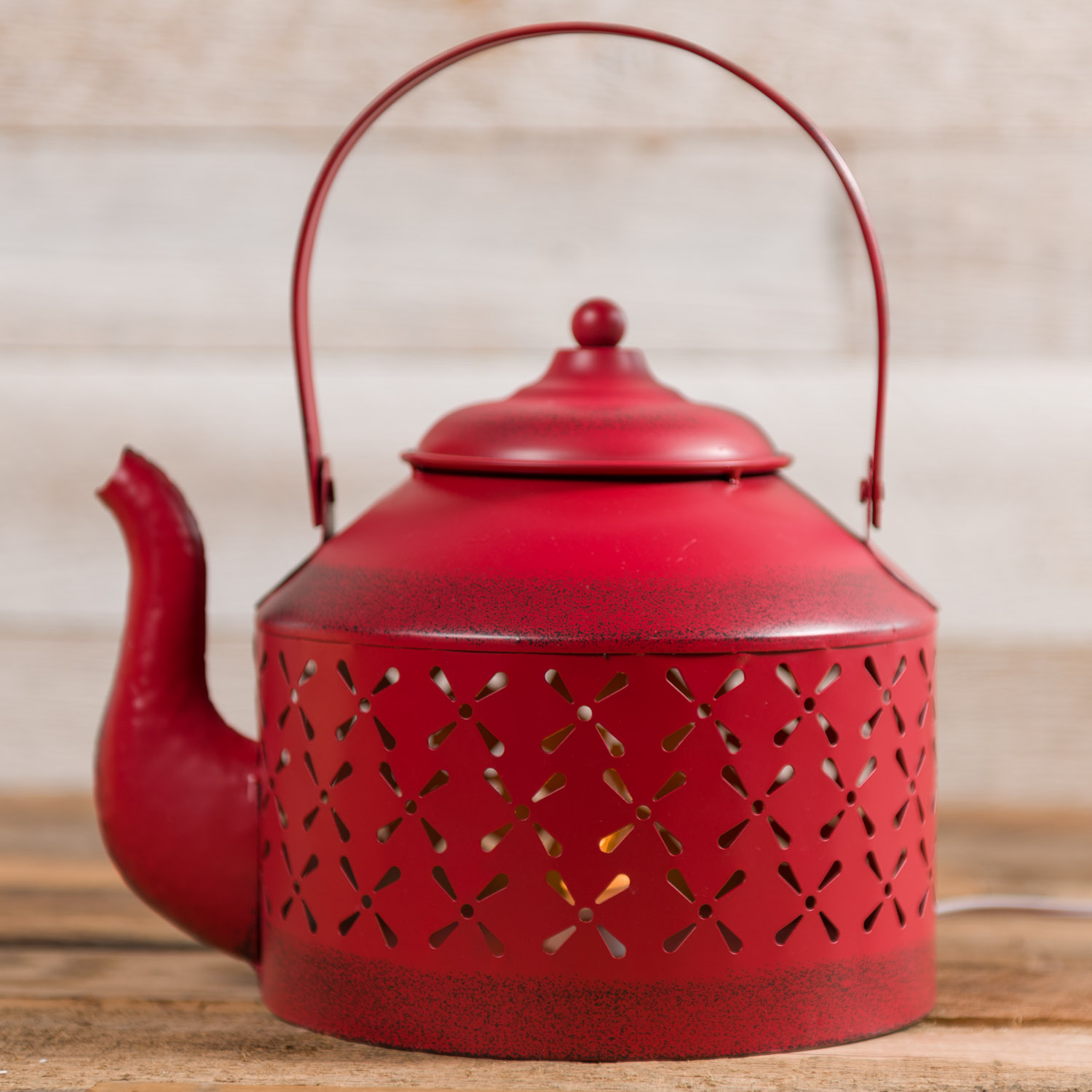 Metal Teapot Accent Light