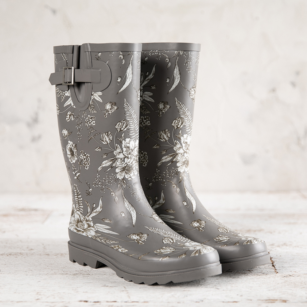 Floral Rainboot