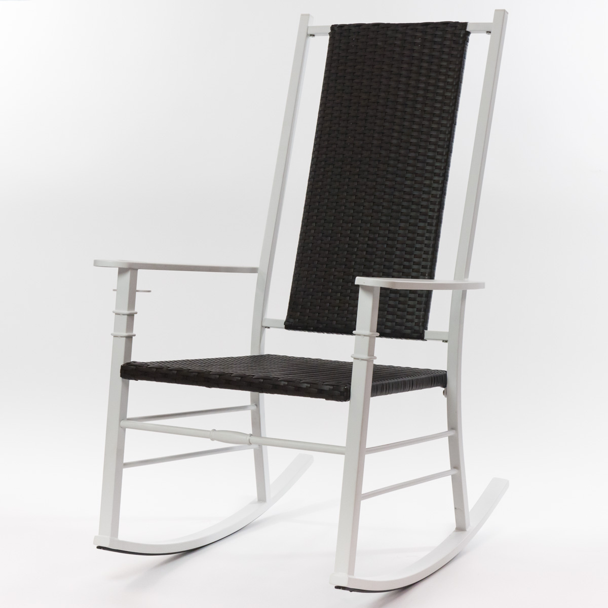 White Palm Harbor Wicker Rocking Chair