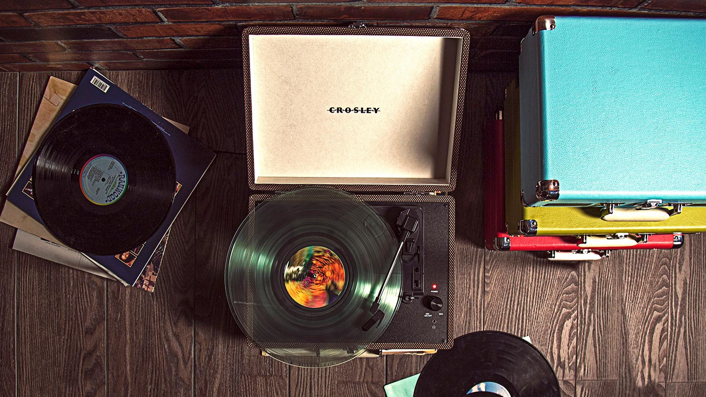 Crosley and Vinyl Sale