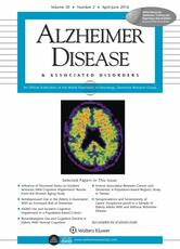 Alzheimer Disease and Associated Disorders Online