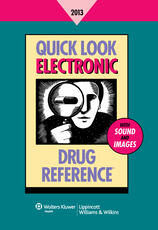 Quick Look Electronic Drug Reference 2013