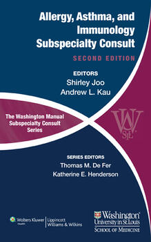 Washington Manual of Allergy, Asthma, and Immunology Subspecialty Consult