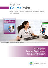 Lynn CoursePoint 4e, Taylor CoursePoint 8e, LWW DocuCare 24 Month Plus Bucholz Med Math Package