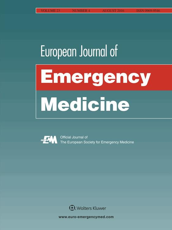 European Journal of Emergency Medicine