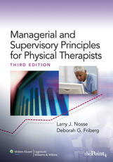 VitalSource e-Book for Managerial and Supervisory Principles for Physical Therapists