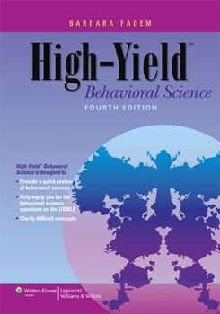 high yield behavioral science