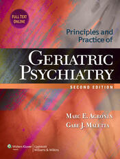 Principles and Practice of Geriatric Psychiatry